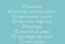 Health/Fitness / by Melissa Stripling