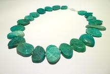 Gemstone Necklaces / by kaynara jewellery
