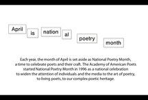 National Poetry Month / BCLS is celebrating National Poetry Month by featuring some of our favorite poems from over the years! / by Burlington County Library System