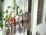Unique garden ideas / by Kathy The Crafter