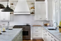 kitchen islands / by Selima Friedman