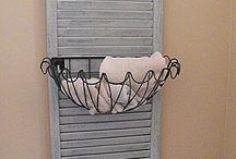 DIY with shutters / by Stacie Smith-Ocker