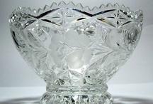 crystal dishes / by Paula McCready