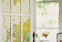 Maps and Globes around the house / by Melissa Wild
