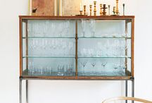 Bar + Beverage / stocking the vintage bar cart  / by Chanee Vijay