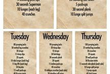 Work out plans / by Cori Pyne