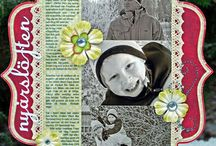 Scrapbooking Layouts / These are scrapbook layouts. Disney scrapbook layouts are on a seperate board. / by Heather Gibbs