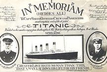 Remembering Titanic / by Prim, Shabby, and Vintage-Inspired
