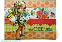 The Projects of Kristy Dalman, The Odd Girl / #Cardmaking #Stamping #Scrapbooking #Copic  / by Kristy Dalman