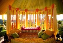 Mendhi Decor Ideas / by Unique Design & Events Draping | Specialty Linens | ModernFurniture