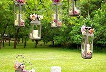 Ideias decoração casamento  / by Ana e Luís
