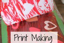 Printmaking for kids / by Nichole Jones