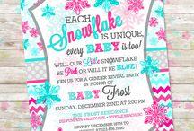 Winter Gender Reveal Party / by Dreamlike Magic Designs