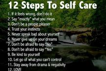 Self care / by Inspirational Mental Health