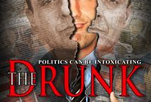 """The Drunk (Movie) / (Short Synopsis) """"When the alcoholic grandson of a legendary American socialist gets arrested for DUI, he must run for office to take a stand against political injustice ... discovering himself along the way."""" (Starring) William Tanoos, Paul Fleschner (The Origins of Wit and Humor), Tom Sizemore (Saving Private Ryan, Black Hawk Down), Jesse Ventura (Predator, WWE Hall of Fame), Danny Goldring (The Dark Knight, Bean, The Fugitive). / by Green Apple Entertainment"""