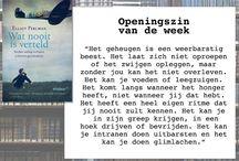 Openingszinnen / by WPG Uitgevers België