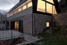 Stone houses / by Architonic