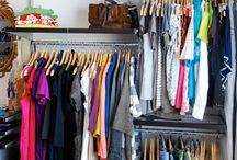 Closet Ideas / by Amanda Robinson