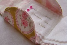 Pincushion needle cases / by Anne Massart