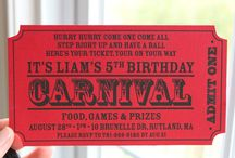 PARTY ON: Carnival me / by Tiffany Benson <PaperLaneDesign>