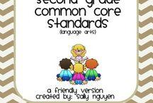 Second Grade Education Stuff / by Edison Franklin-Ski
