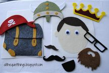 Quiet Book & Busy Bag Ideas / by Christine Butler