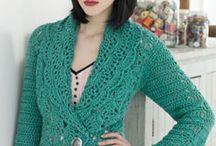 JACKETS, BOLEROS: knitting & crocheting / by Darievna