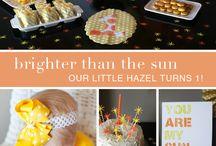 Bristol's 1st birthday ideas / by Laura Watkins