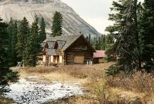 cabins / by Connie Ochsner