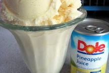 Drinks-Ice-Cream-Frozen / by Cierra Winkler