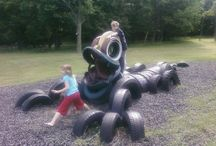 Recycled Play Structures / by KaBOOM!