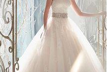 Wedding dress ideas!!! (: / by Hallie Brown