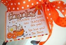 Teacher Gifts / by Brigette Evangelista