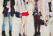 Japan Style Magazine Clips / by Ginie Hu