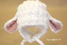 Gorros crochet / by Ana Maria Contreras R