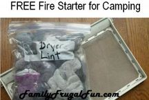 Camping Tips, Camping Ideas, Frugal Camping / by Family Frugal Fun
