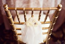 Chair Decor-Love the Details! / by Bergerons Flowers