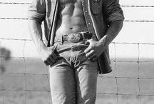 Obligatory Hot Cowboy Board / by Carol Crawley
