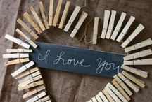 ♥ DIY Love / Liefde / Liebe ♥ / Love crafts for Valentines Day or to make as a gift / by LoeLaLoep