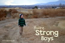 Raising a Boy / by Miranda Hochachka-Thompson