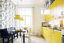 Interiors - Kitchens / by Karie Heathcoat-Kieffer