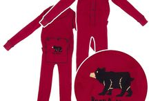Union Suits / Union suits are fun for sleeping, lounging, or wearing under your clothing on chilly winter days. / by Crazy For Bargains Pajamas