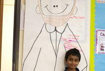 Social Studies: Abe and George / by Georgeanne Larsen