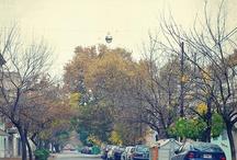 Rosario, my city / Urbe cosmopolita, es el núcleo de una región de gran importancia económica, encontrándose en una posición geográficamente estratégica con relación al Mercosur, gracias al tránsito fluvial y con respecto al transporte. Cerca del 80% de la producción del país de cereales, aceites y sus derivados se exporta por los puertos del Gran Rosario. Es la principal metrópoli de una de las zonas agrarias más productivas de Argentina y es centro comercial, de servicios y de una industria diversificada.  / by Marta Motti