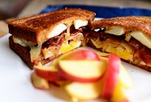 Grill me some cheese please / Yummy grilled cheeses / by Jackie Barnes