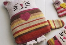 Fiberous Felines / Cats love yarn.  And yarn loves cats. / by Pepper Hayes