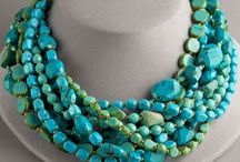 TURQUOISE jewelry / by Carla Van Galen