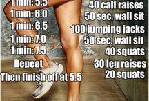 Workouts / by Samantha Threadgill
