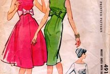 1960's vintage Patterns / by Ruth Zahler