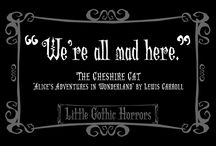 Delightfully Dark Cats FB / Just a little spin-off LGH Facebook page devoted to fabulously frightful felines. :)  / by Little Gothic Horrors